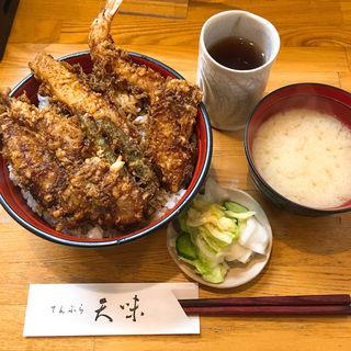 5天丼(海老きすいか野菜3品)(天味 (テンプラテンミ))
