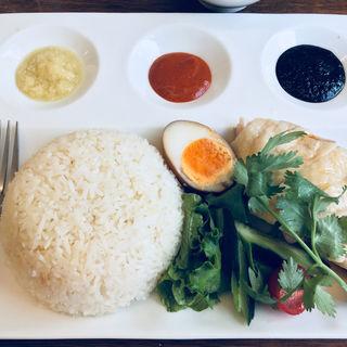 海南チキンライス(Five Star Cafe 五星鶏飯)