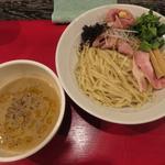フォアグラつけ麺(鴨だしらーめん 鴨福)