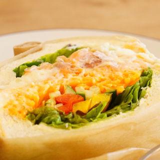 本日のサンドイッチ(ココフル カフェ)