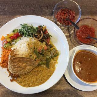 スリランカカレー(隆麺 (リュウメン))