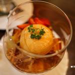 酢梅湯のパフェ(中国料理 彩龍 (サイリュウ))
