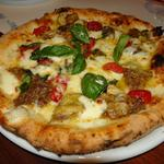ナポリのジェノベーゼとパルミジャーノビアンカ(ピッツェリア・パドリーノ・デル・ショーザン (PIZZERIA PADRINO DEL SHOZAN))