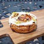 焼きベリーのチーズケーキ