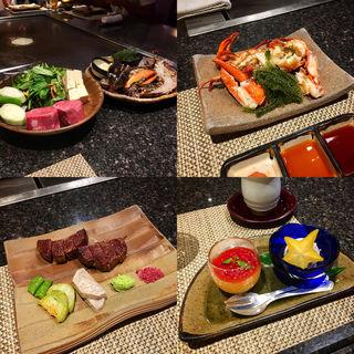龍星(Special Steak Set)(龍潭 (りゅうたん))