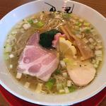 鶏そば(津軽煮干中華蕎麦 サムライブギー)