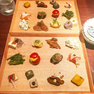 12種類のおばんざいと豆乳鍋セット(らんまん )