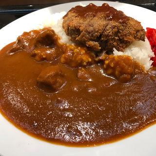 ビフカツカレーライス(レストラン ヨコオ 大阪のれんめぐり店)