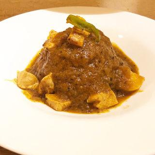 チキンカレー(カラヒカレー (karahi curry))