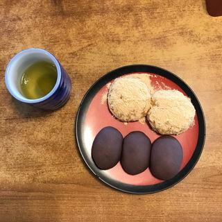長崎名物 お諏訪のぼた餅(月見茶屋 (つきみちゃや))
