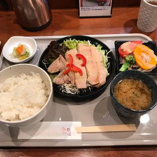 ゆで豚の特製ソースかけ膳(平河町 川澄 (ひらかわちょうかわすみ))