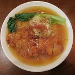 鶏排骨麺(中華そば ふじわら)