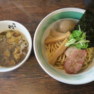 味玉つけめん(自家製麺 麺屋 利八)
