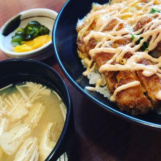 明太子マヨかつ丼(梅よし HEP FIVE店 (うめよし))
