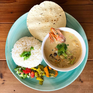 海老のココナッツのカレー(Curry&Spice青い鳥)