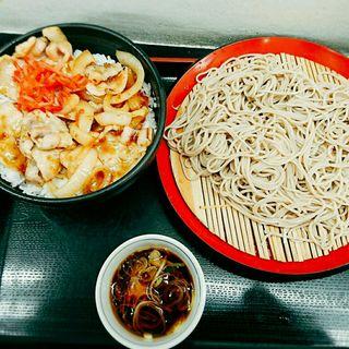 焼肉丼セット(山吹 (ヤマブキ))