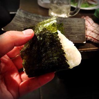 おにぎり(明太子)(焼肉・ホルモン酒場 福ちゃん 恵比寿本店 )