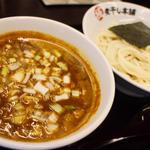 辛煮干しつけ麺(二代目 極煮干し本舗 すすきの店)
