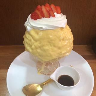 苺プリン(チョコレート研究所 大阪新町店 )