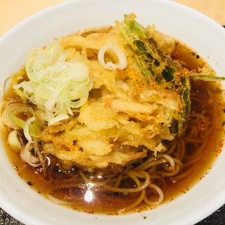 かき揚げそば(いわもとQ 神保町店 (イワモトキュー))