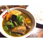 ラベンダーポークの炙り角煮カレー(Suage+)