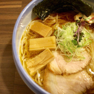 あっさり煮干し中華そば醤油(麺や玄鳥)