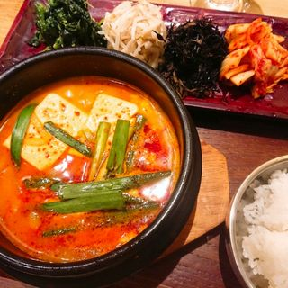 純豆腐定食(KOREAN 水刺間)