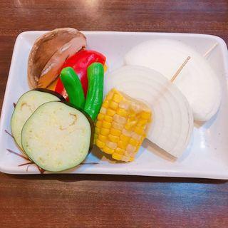 焼き野菜(焼肉たきもと )