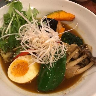 きのこと野菜のスープカレー(スープカレー syukur武蔵小杉店 (スープカレー シュクル))
