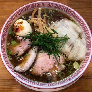 特製醤油そば(麺切り 白流)
