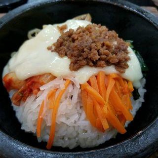 石焼きビビンバ チーズと卵トッピング(あんにょん 福岡トリアス久山店)