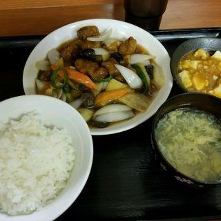 酢豚定食(中国北方料理 知味観 )