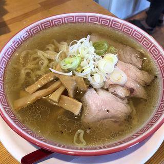 モーニングスペシャル中華そば(塩)(麺切り 白流)