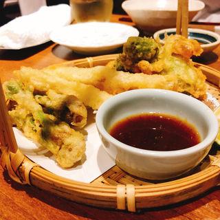季節の天ぷら(いふう )