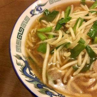 サンマー麺(らーめん逍遥亭)