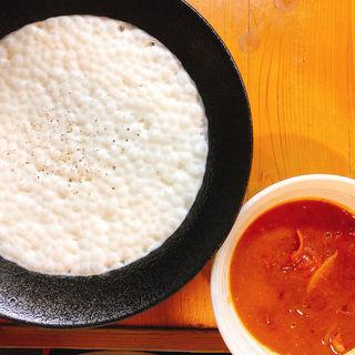 白い豚カレーつけ麺(ろく月 )