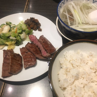 牛タン定食(牛たん炭焼き 利久 一番町店 (ぎゅうたんすみやき りきゅう))