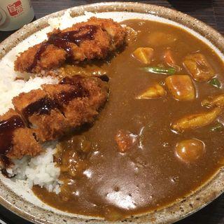 ささみカツカレー+野菜 5辛(CoCo壱番屋 昭和御器所店 (ココイチバンヤ))
