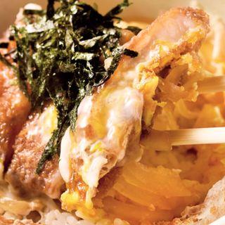 特製かつ丼(銀座 とん㐂)