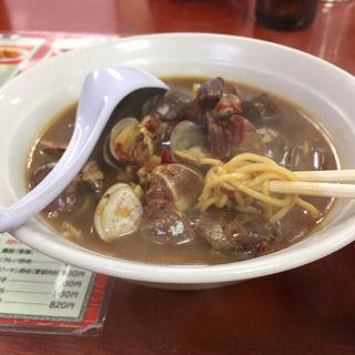 味仙ラーメン(アサリ麺)(味仙 矢場店 (ミセン))