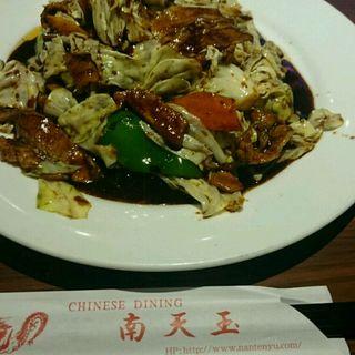 回鍋肉(Chinese Dining ナンテンユー (南天玉))