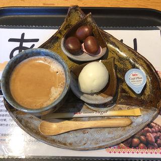 ホットコーヒー(万寿庵 (マンジュアン))