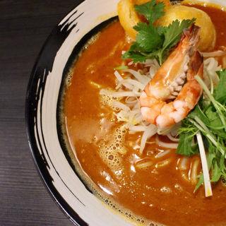 馬来西亜拉麺(つけ麺 六芒星)