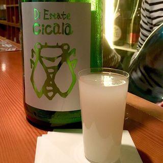 三井の寿 夏純米にごり Cicara(チカーラ)(日本酒バー 雲レ日)