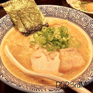 濃厚鶏白湯そば(麺匠 黒春晴)