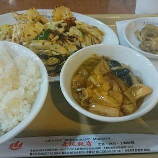 回鍋肉定食(赤坂飯店 晴海店 )