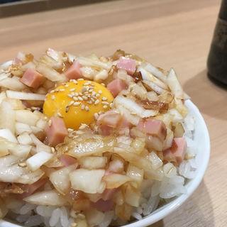 ハムネギめし(めし ひろ田)