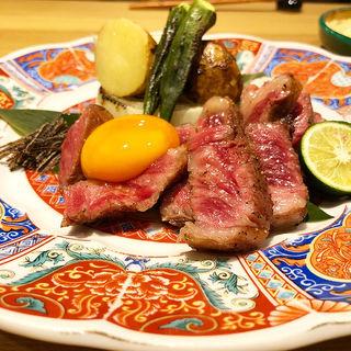 ステーキ(肉酒場 輪っか)