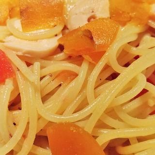 タコとカラスミのスパゲッティー(オステリア・トット (OSTERIA TOTTO))