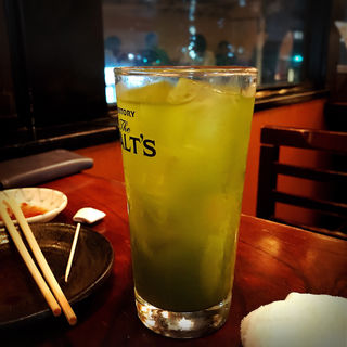 緑茶ハイ(いろは寿司 中目黒本店 (いろはずし))